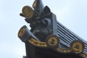 豊国神社 鬼瓦