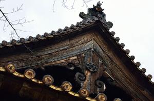 豊国神社の屋根