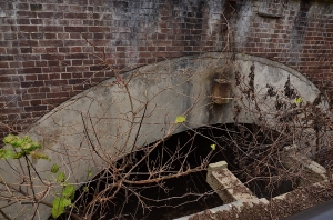 北部砲台 砲側庫