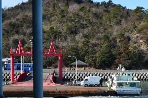 大久野島 第二桟橋