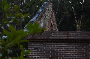 火薬庫の屋根