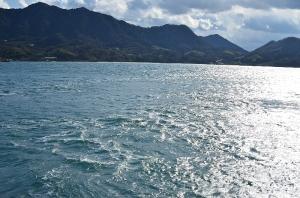 大久野島の海