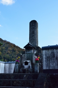 山中鹿介の墓