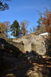 大手門から見たお城