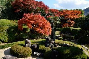 頼久寺庭園 鶴島