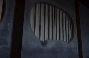 岩本邸 円形の窓