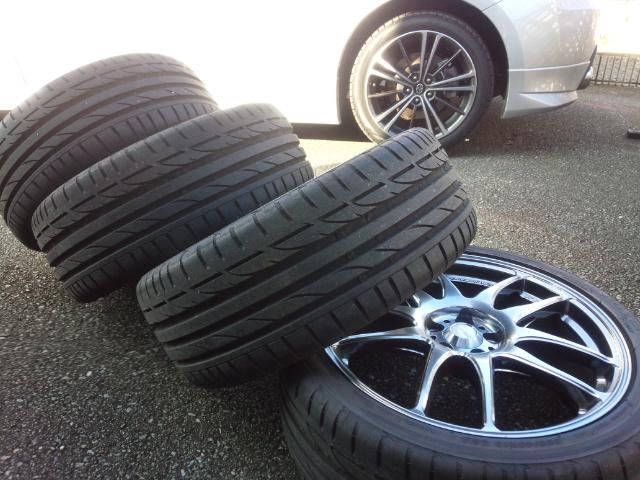 タイヤ洗い01