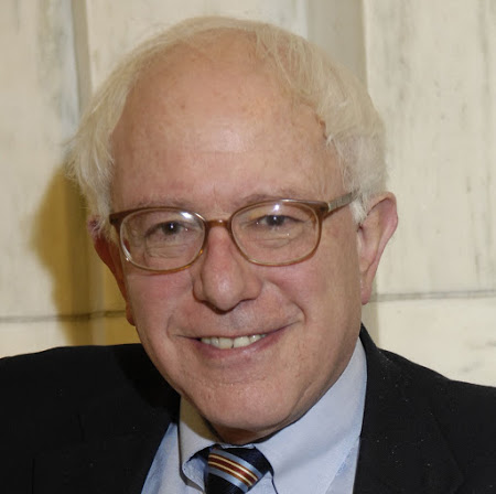 Sanders close up