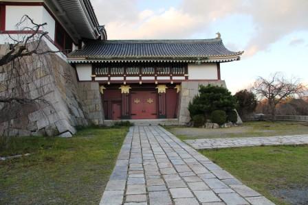 伏見桃山城大天守への入り口_H26.12.05撮影