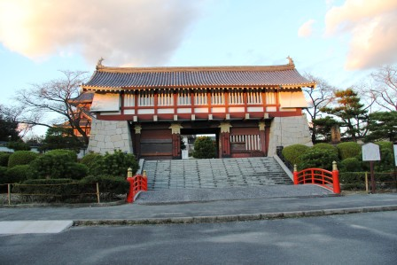 伏見桃山城正門_H26.12.05撮影