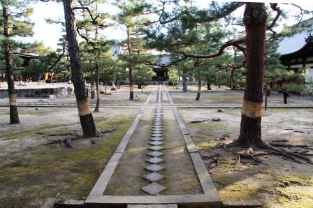 萬福寺石條(石畳)_H26.12.05撮影