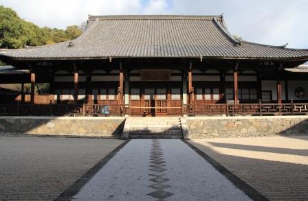 法堂への石畳_H26.12.05撮影