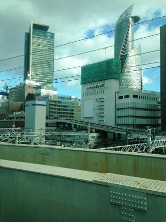 名古屋駅手前_H26.12.05撮影