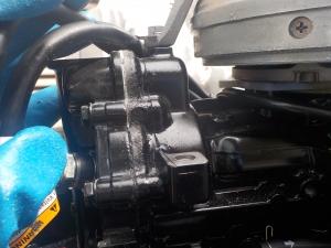 DSCN0370 - サーモスタット周りが粉ふく