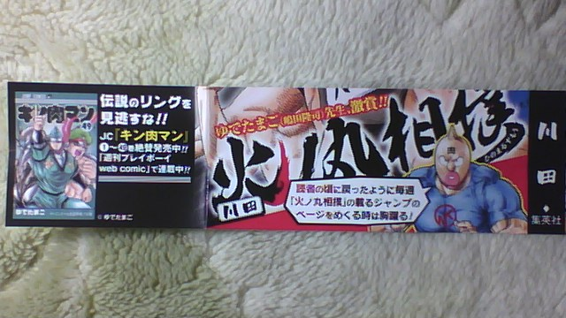 火ノ丸相撲 3巻 帯A