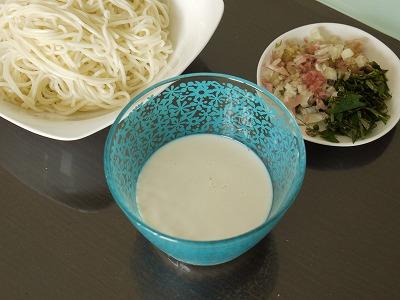 150704豆乳ソーメン (2)