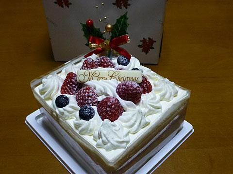 14 12/24 クリスマスケーキ