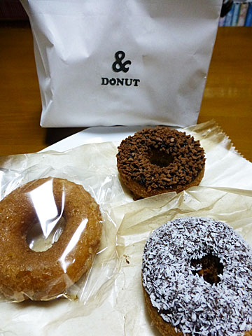 15 3/15 &Donut 3種類