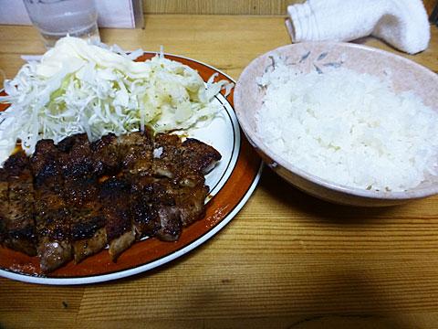 15 3/19 館 焼肉定食
