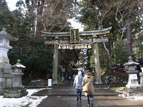 塩釜神社鳥居