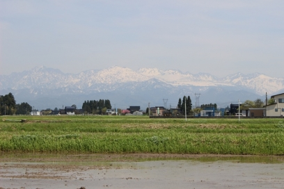 2015年4月24日立山連峰