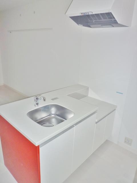 鹿児島市新栄町新築賃貸マンションのキッチン