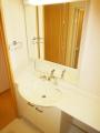 鹿児島市山田町新築賃貸アパートの洗面所