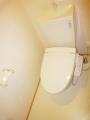 鹿児島市山田町新築賃貸アパートのトイレ