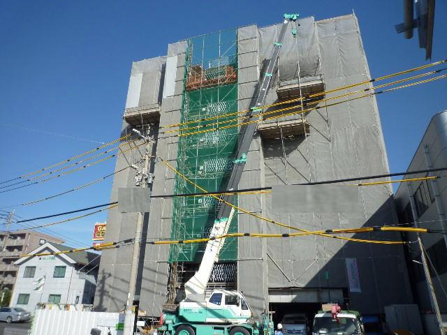 鹿児島市新栄町新築賃貸マンションの外観