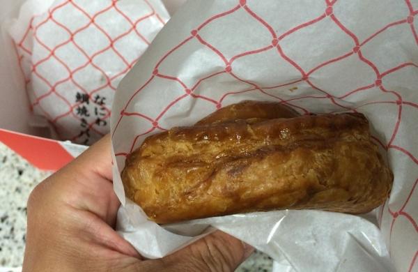 15051706 神戸牛のミートパイで有名な ユーハイムの「なにわ鯛焼きパイ」