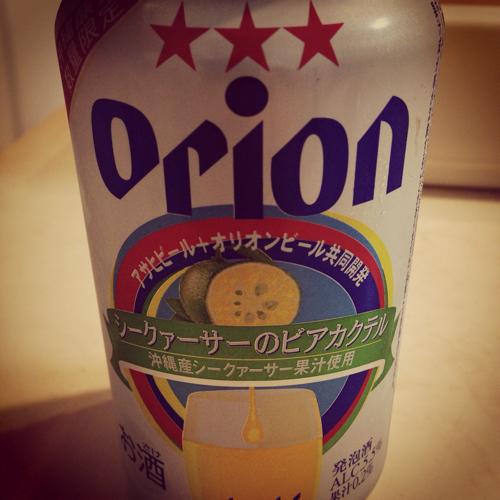Orionビアカクテル