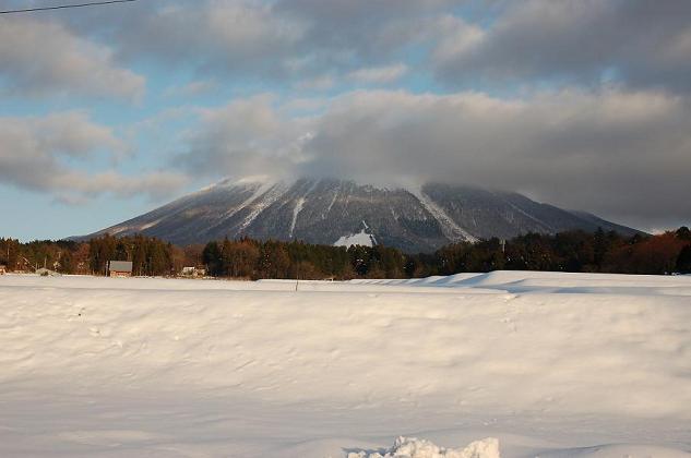 溝口からの大山
