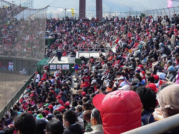 3月14日福山市民球場