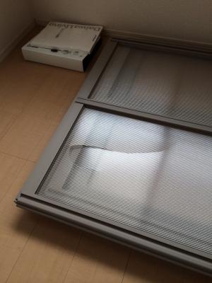 引越し ガラス破損