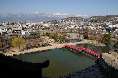 松本城 4階からの景色