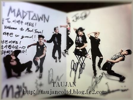 2015 TAUJAN MADTOWN サイン入りミニアルバム