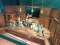 『査察官』舞台模型(メイエルホリドの家博物館・蔵)