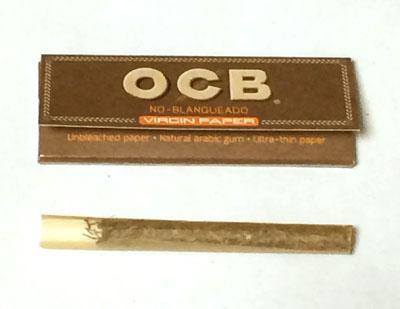 OCB_BROWN_HEMP オーシービー・ブラウン・ヘンプ OCB オーシービー ヘンプペーパー 麻紙 スローバーニング 手巻きタバコ 巻紙 RYO