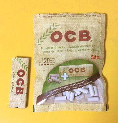 OCB_NATURAL_VALUE_PACK OCB・ナチュラルバリューパック オーシービー 無添加 無漂白 スリムサイズ 手巻きタバコ フィルター