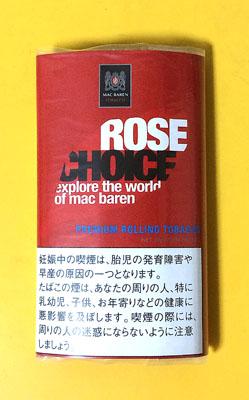 CHOICE_ROSE CHOICE チョイス・ローズ チョイス 手巻きタバコ フレーバーシャグ シャグ RYO
