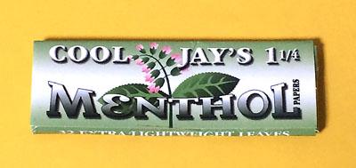 巻紙 ペーパー JUICY_JAYS_MENTHOL JUICY_JAYS ジューシージェイ フレーバーペーパー COOL JAY'S MENTHOL メンソール