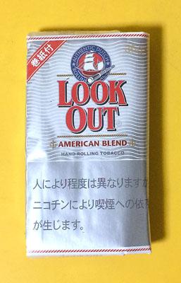 lookout_americanblend lookout ルックアウト・アメリカンブレンド ルックアウト アメリカンブレンド シャグ 手巻きタバコ RYO