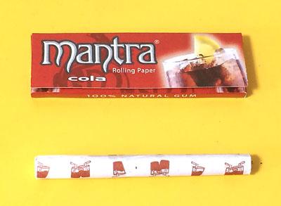 mantra_cola mantra マントラ・コーラ マントラ 手巻きタバコ 巻紙 ローリングペーパー コーラフレーバー RYO