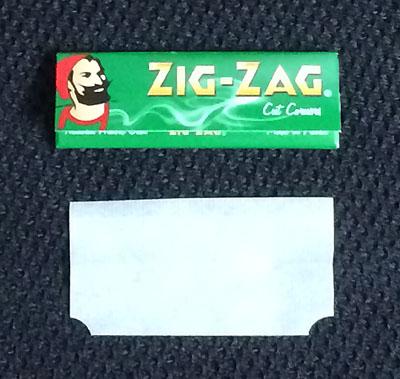 ZIG-ZAG_GREEN_ ジグザグ・グリーン ZIG-ZAG ジグザグ カットコーナー 手巻きタバコ 巻紙 ローリングペーパー RYO