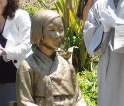 20150325_米カリフォルニア州グレンデール市内に設置された慰安婦像(250x213)