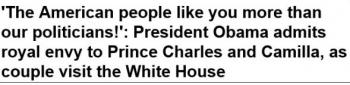 tokPresident Obama admits royal envy to Prince Charles and Camilla