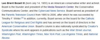 wikiL. Brent Bozell III
