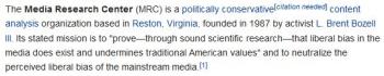 wikiMedia Research Center