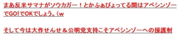 tokアベシンゾーのケツモチ(爆w2