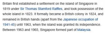 wikiSingapore-United Kingdom relations